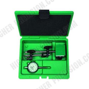 2-Piece Measuring Tool Set: Indicator & Stand