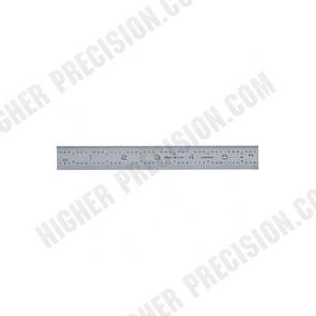 Rigid Satin Chrome Steel Rules – Metric