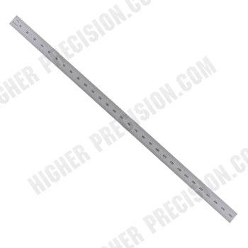 Flexible Satin Chrome Steel Rules – Inch/Metric