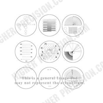 10X Pocket Optical Comparator Reticle – Angle # 52-661-006