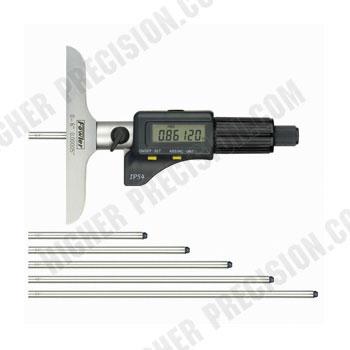 Electronic IP54 Depth Micrometer