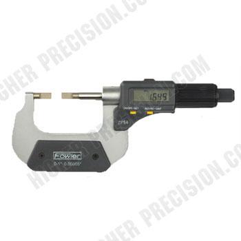 Electronic IP54 Blade Micrometers