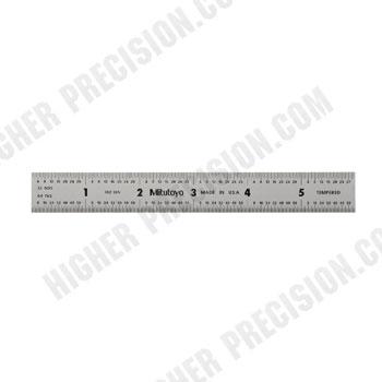 Steel Wide Rigid Rules – Series 182 – Inch/Metric
