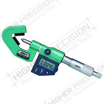 Electronic V-Anvil Micrometers