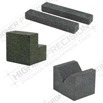 Black Granite V-Blocks – Per Matched Pair – Economy Type – Grade AA