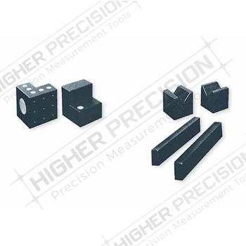 4 Face Laboratory Grade Granite Angle Blocks with Inserts – Series 517