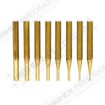 Brass Drive Pin Punch Set