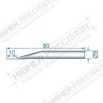 2mm Tungsten Carbide Ball Probe 80mm Length # 54-194-906