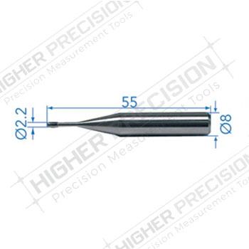 2.2mm Barrel Shaped Insert for M3-M16 # 54-194-914