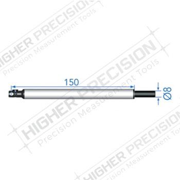 150mm 90 Degree Insert Holder for 4mm Probes # 54-194-940