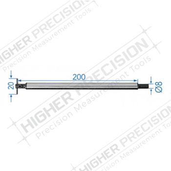 2mm Measuring Insert Holder 200mm # 54-194-943
