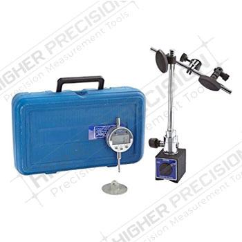 Articulating Mag Base & Indi-X Blue Fraction Electronic Indicator Combo