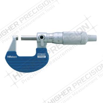Ratchet Thimble Micrometers – Series 102 – Metric