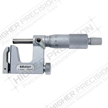 Uni-Mike Interchangeable Anvil Type Micrometers – Metric