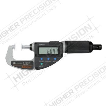 IP54 Quickmike Non-Rotating Spindle Disk Micrometers Adj. Measuring Force – Metric