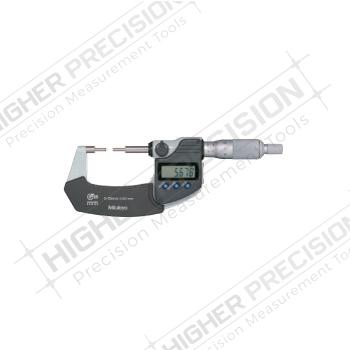 IP65 Electronic Spline Micrometers with Ratchet Stop – Metric