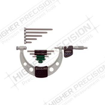IP65 Electronic Interchangeable Anvil Micrometers – Metric