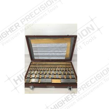 103 PIece Grade AS-2 Steel Square Gage Block Set # 516-444-26
