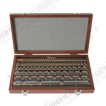 112 Piece Grade 0 Steel Rectangular Gage Block Set # 516-938-26