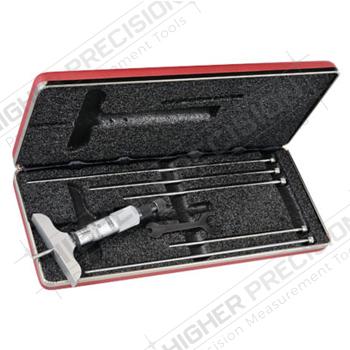 Depth Micrometer with Ratchet/Speeder Combo # 440Z-6RL