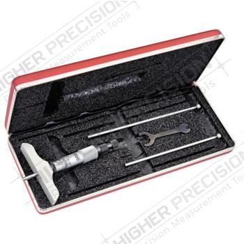 Depth Micrometers – Series 445M – Metric