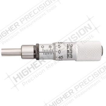1463 Stainless Steel Micrometer Heads with Lock Nut – Metric