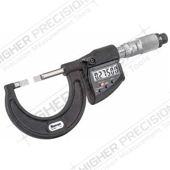Electronic Blade Micrometers – Metric