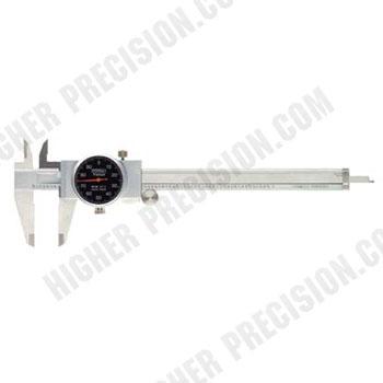 Machinist Grade Shockproof Dial Caliper # 52-008-707