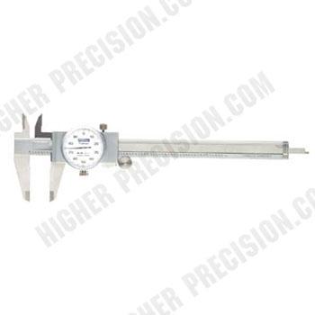 Machinist Grade Shockproof Dial Caliper # 52-008-712
